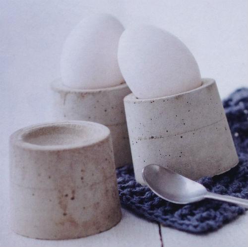 Eierbecher Beton prinzässin ch eierbecher aus beton