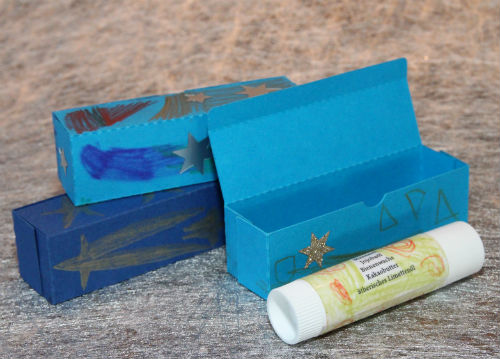 Verpackung Lippenbalsam