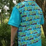 Racingshirt von hinten