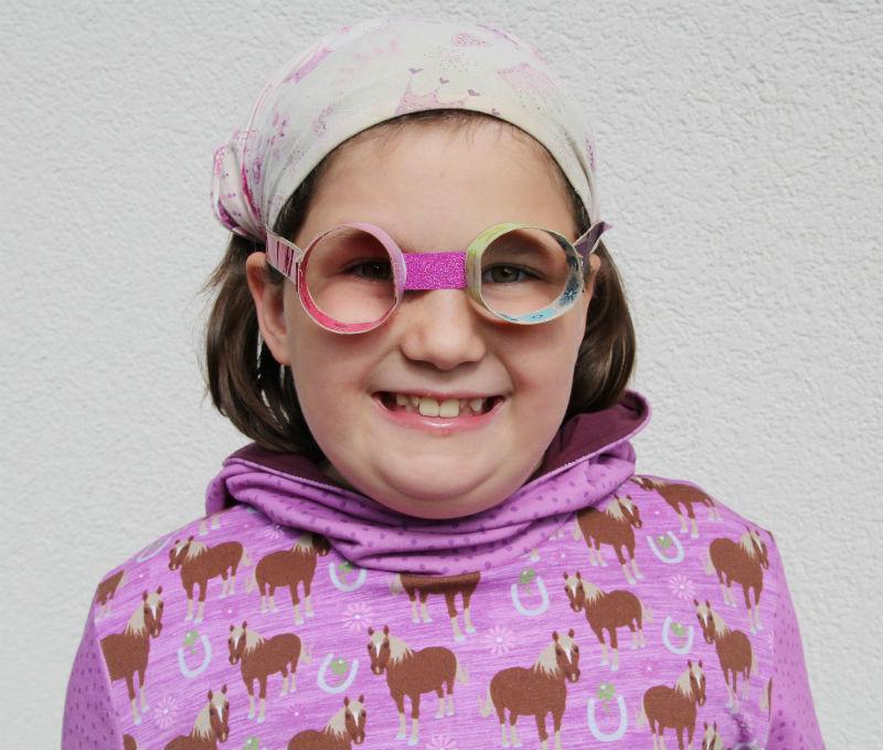 Klopapierrollenbrille