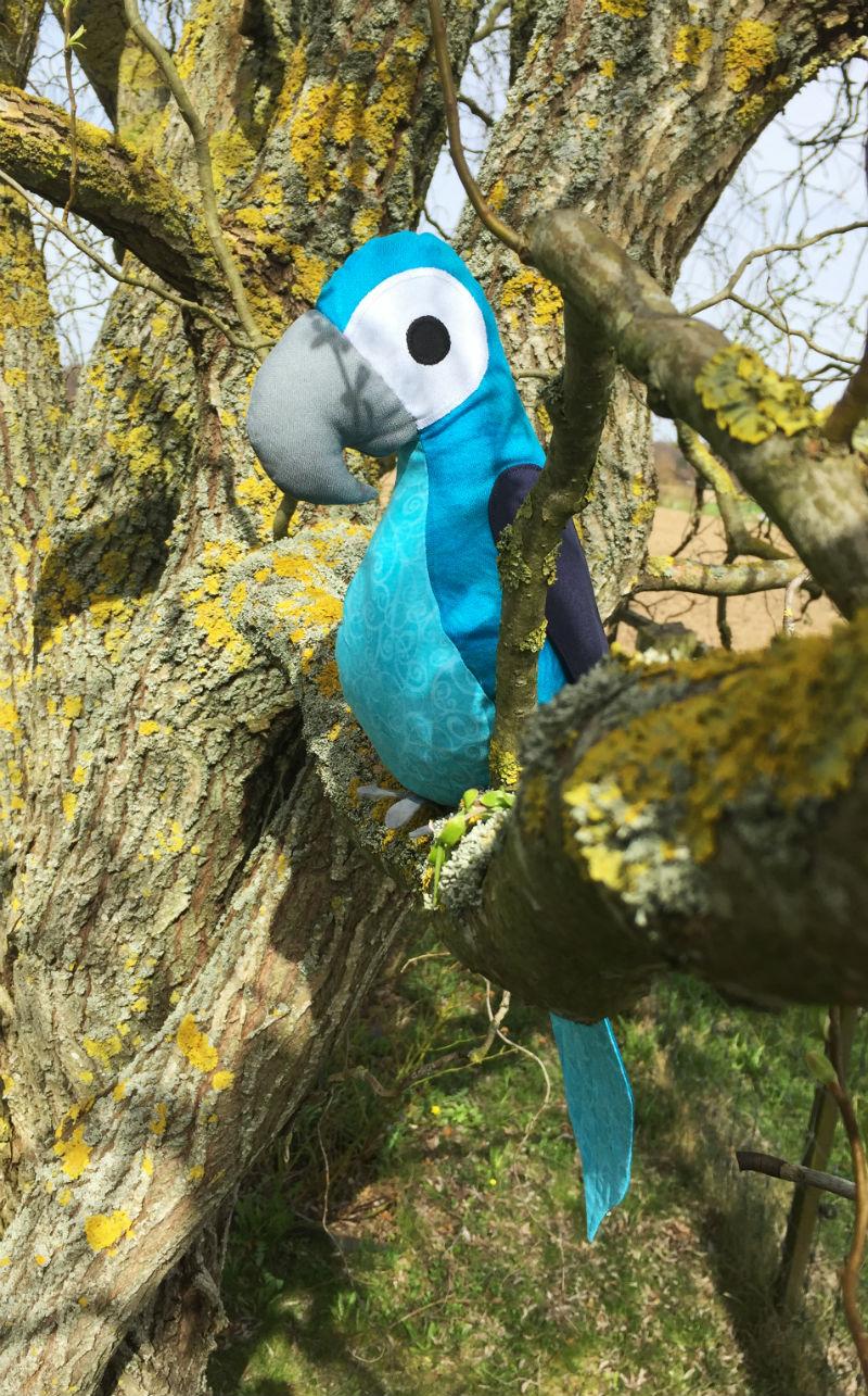 Enrico im Baum