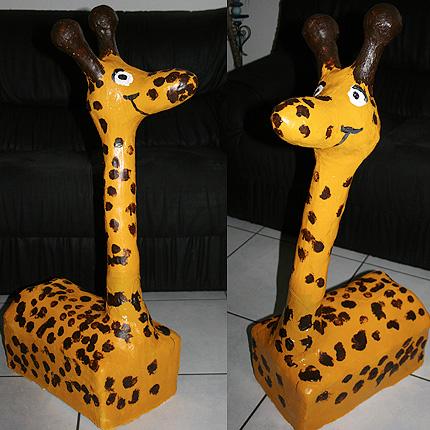 giraffenskulptur