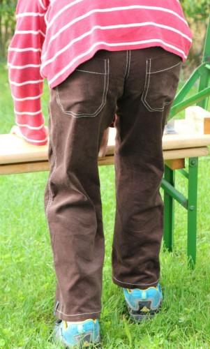 Hosen von hinten