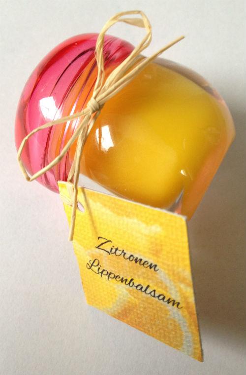 Lippenbalsam Zitrone
