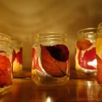 herbstlicher Kerzenschein