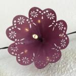 violettes Schirmchen